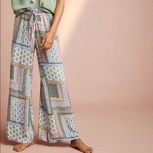 NWT Floreat patchwork pajama pants L